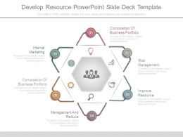 Develop Resource Powerpoint Slide Deck Template