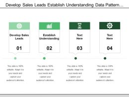 Develop Sales Leads Establish Understanding Data Pattern Matching
