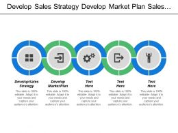 Develop Sales Strategy Develop Market Plan Sales Force Structure