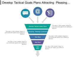 Develop Tactical Goals Plans Attracting Pleasing Customers Competing Successfully