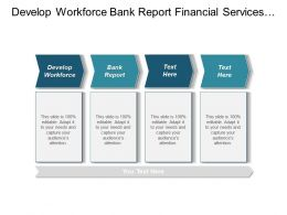 Develop Workforce Bank Report Financial Services Industry Report Cpb