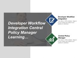 Developer Workflow Integration Central Policy Manager Learning Knowledge Based