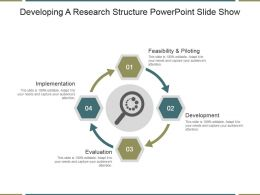 Developing A Research Structure Powerpoint Slide Show