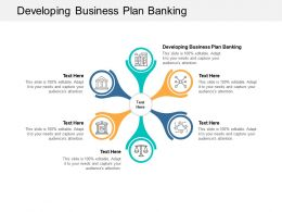 Developing Business Plan Banking Ppt Powerpoint Presentation Summary Templates Cpb