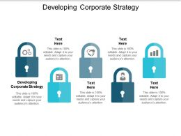 Developing Corporate Strategy Ppt Powerpoint Presentation Styles Graphics Cpb