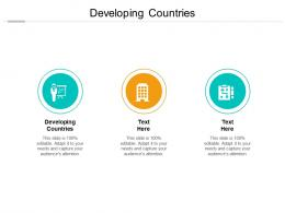 Developing Countries Ppt Powerpoint Presentation Show Layout Cpb