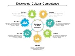 Developing Cultural Competence Ppt Powerpoint Presentation Gallery Model Cpb