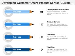 Developing Customer Offers Product Service Customer Relationship Management