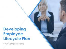 Developing Employee Lifecycle Plan Powerpoint Presentation Slides