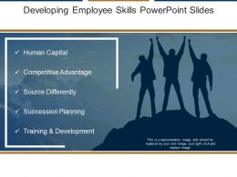 Developing Employee Skills Powerpoint Slides