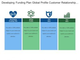 Developing Funding Plan Global Profile Customer Relationship Manager
