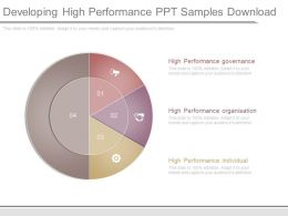 Developing High Performance Ppt Samples Download