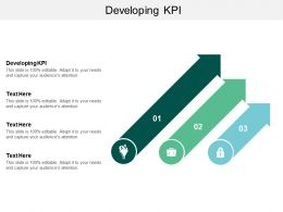 Developing Kpi Ppt Powerpoint Presentation Gallery Format Cpb