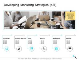 Developing Marketing Strategies Technical Business Operations Management Ppt Demonstration