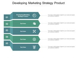 Developing Marketing Strategy Product Ppt Powerpoint Presentation Diagram Images Cpb
