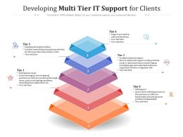 Developing Multi Tier IT Support For Clients