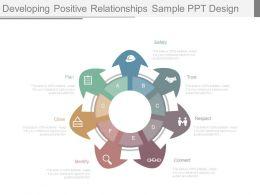 developing_positive_relationships_sample_ppt_design_Slide01