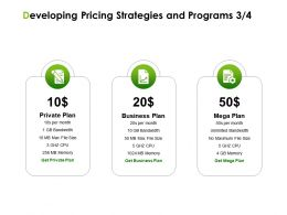 Developing Pricing Strategies And Programs Business Plan Ppt Powerpoint Presentation Inspiration Designs Download