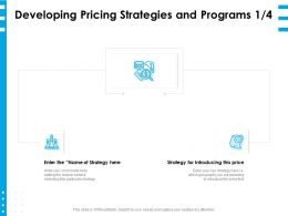 Developing Pricing Strategies And Programs Price Ppt Powerpoint Presentation Clipart