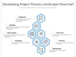 Developing Project Process Landscape Flowchart