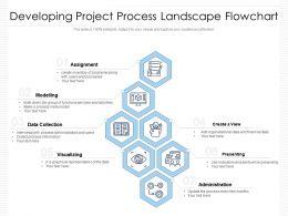 Developing Project Process Landscape Flowchart