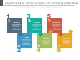 Developing Sales Pipeline Template Powerpoint Slide Design Ideas