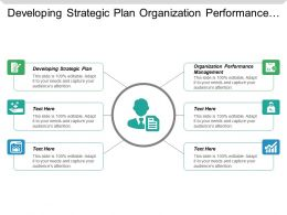 Developing Strategic Plan Organization Performance Management Performance Rewards Cpb