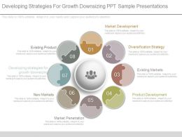 Developing Strategies For Growth Downsizing Ppt Sample Presentations