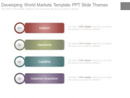 Developing World Markets Template Ppt Slide Themes