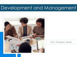 Development And Management Business Vision Strategy Options Profit Improvement