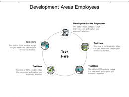 Development Areas Employees Ppt Powerpoint Presentation Infographics Show Cpb