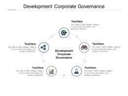 Development Corporate Governance Ppt Powerpoint Presentation Layouts Rules Cpb