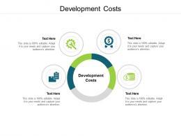 Development Costs Ppt Powerpoint Presentation Infographics Sample Cpb