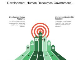 Development Human Resources Government Leadership Practices Specialty Advertising