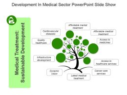 Development In Medical Sector Powerpoint Slide Show
