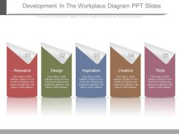 Development In The Workplace Diagram Ppt Slides