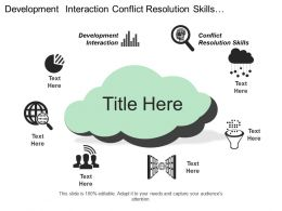 Development Interaction Conflict Resolution Skills Development Presentation Skills