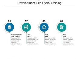 Development Life Cycle Training Ppt Powerpoint Presentation Outline Ideas Cpb
