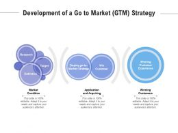 Development Of A Go To Market GTM Strategy