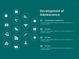 Development Of Adolescence Ppt Powerpoint Presentation Outline Graphics Example