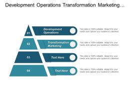 Development Operations Transformation Marketing Customer Experience Strategy Management Cpb