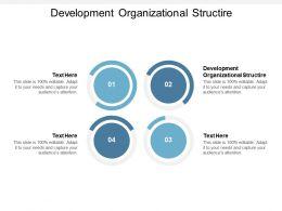 Development Organizational Structire Ppt Powerpoint Presentation File Cpb