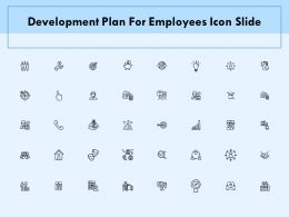 Development Plan For Employees Icon Slide Technology Ppt Powerpoint Presentation