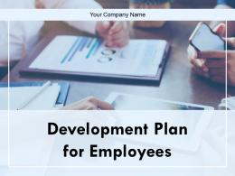 Development Plan For Employees Powerpoint Presentation Slides