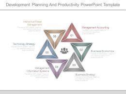Development Planning And Productivity Powerpoint Template