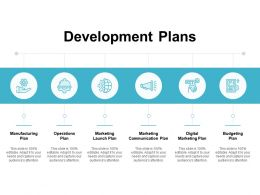 Development Plans Manufacturing Plan Ppt Powerpoint Presentation Pictures Show