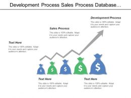 Development Process Sales Process Database Server Application Server