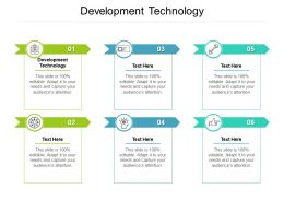 Development Technology Ppt Powerpoint Presentation Icon Structure Cpb
