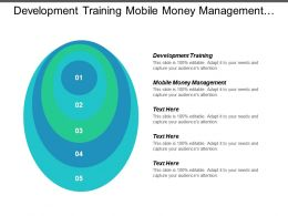 Development Training Mobile Money Management Value Chain Asset Management Cpb