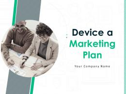 Device A Marketing Plan Powerpoint Presentation Slides